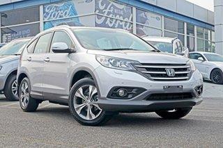 2013 Honda CR-V RM MY14 VTi-L 4WD Silver 5 Speed Sports Automatic Wagon.