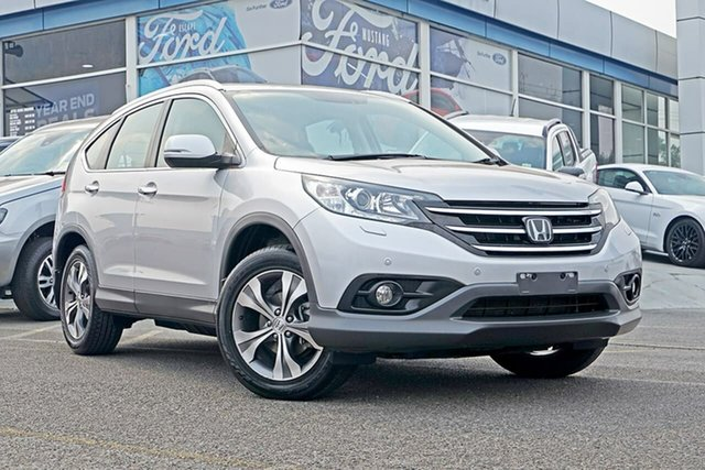 Used Honda CR-V RM MY14 VTi-L 4WD, 2013 Honda CR-V RM MY14 VTi-L 4WD Silver 5 Speed Sports Automatic Wagon