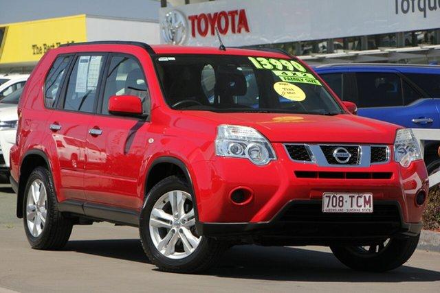 Used Nissan X-Trail T31 Series IV ST 2WD, 2012 Nissan X-Trail T31 Series IV ST 2WD Red 1 Speed Constant Variable Wagon