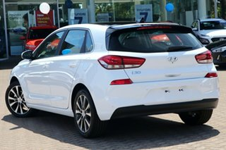 2019 Hyundai i30 PD2 MY19 Premium Polar White 6 Speed Sports Automatic Hatchback.