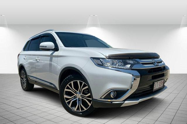 Used Mitsubishi Outlander ZK MY17 LS 2WD, 2017 Mitsubishi Outlander ZK MY17 LS 2WD White 6 Speed Constant Variable Wagon