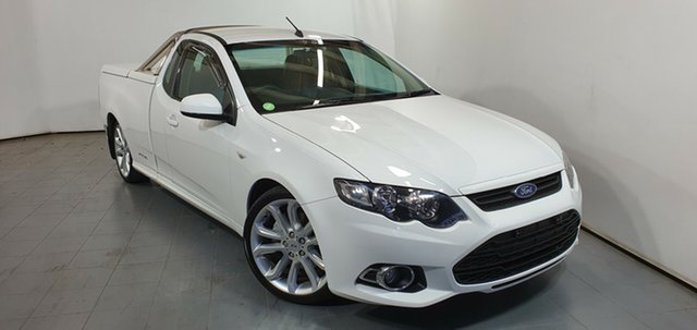 Used Ford Falcon FG MkII XR6 Ute Super Cab Turbo, 2014 Ford Falcon FG MkII XR6 Ute Super Cab Turbo White 6 Speed Sports Automatic Utility