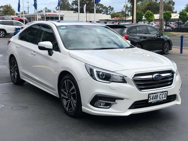 Demo Subaru Liberty B6 MY19 2.5i CVT AWD Premium, 2019 Subaru Liberty B6 MY19 2.5i CVT AWD Premium Crystal White 6 Speed Constant Variable Sedan