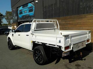 2012 Ford Ranger PX XL Double Cab White 6 Speed Sports Automatic Cab Chassis