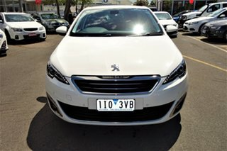 2014 Peugeot 308 T9 Allure White 6 Speed Sports Automatic Hatchback