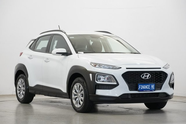 Used Hyundai Kona OS.2 MY19 Go 2WD, 2019 Hyundai Kona OS.2 MY19 Go 2WD Chalk White 6 Speed Sports Automatic Wagon