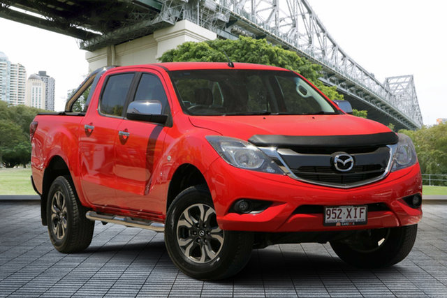 Used Mazda BT-50 UR0YG1 XTR, 2016 Mazda BT-50 UR0YG1 XTR Red 6 Speed Manual Utility