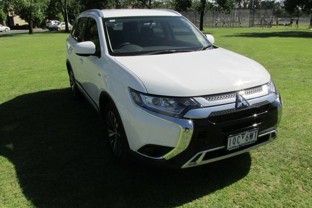 Demo Mitsubishi Outlander ZL MY19 ES 2WD, 2019 Mitsubishi Outlander ZL MY19 ES 2WD White 6 Speed Constant Variable Wagon