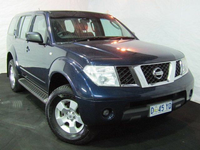 Used Nissan Pathfinder R51 MY07 ST, 2007 Nissan Pathfinder R51 MY07 ST Blue 5 Speed Sports Automatic Wagon