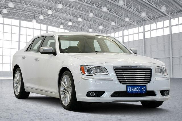 Used Chrysler 300 LX MY13 C E-Shift Luxury, 2013 Chrysler 300 LX MY13 C E-Shift Luxury White 8 Speed Sports Automatic Sedan