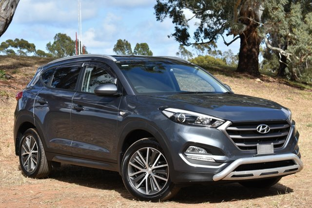 Used Hyundai Tucson TL Active X 2WD, 2015 Hyundai Tucson TL Active X 2WD Grey 6 Speed Manual Wagon