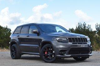 2017 Jeep Grand Cherokee WK MY17 SRT Granite Crystal 8 Speed Sports Automatic Wagon.