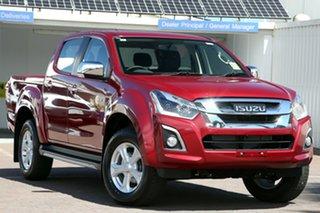 2019 Isuzu D-MAX MY19 LS-U Crew Cab Magnetic Red 6 Speed Sports Automatic Utility.