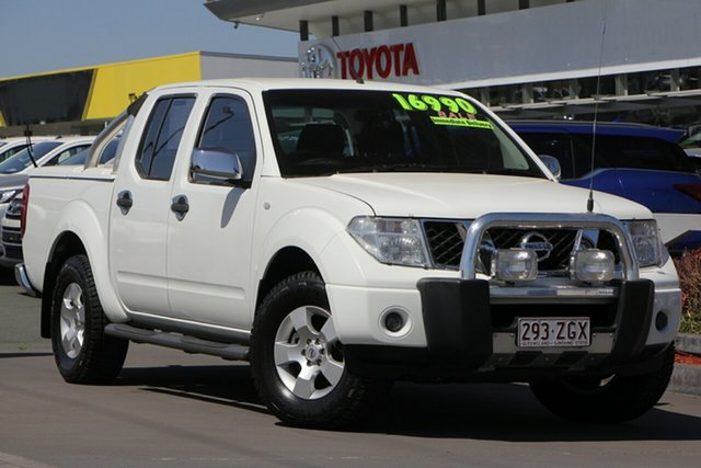 Used Nissan Navara D40 ST-X, 2007 Nissan Navara D40 ST-X White 5 Speed Automatic Utility