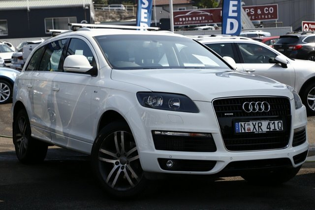 Used Audi Q7 MY08 TDI Quattro, 2008 Audi Q7 MY08 TDI Quattro White 6 Speed Sports Automatic Wagon