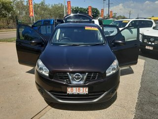 2013 Nissan Dualis J107 Series 3 MY12 +2 Hatch X-tronic 2WD ST Maroon 6 Speed Constant Variable