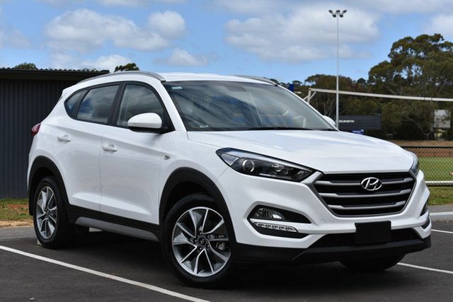 Used Hyundai Tucson TL3 MY19 Active X 2WD, 2018 Hyundai Tucson TL3 MY19 Active X 2WD White 6 Speed Automatic Wagon