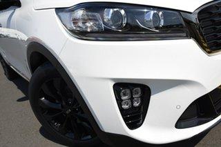 2019 Kia Sorento UM MY20 Black Edition AWD Snow White Pearl 8 Speed Sports Automatic Wagon.