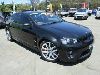2008 Holden Special Vehicles ClubSport E Series MY08 Upgrade R8 Black 6 Speed Manual Sedan.