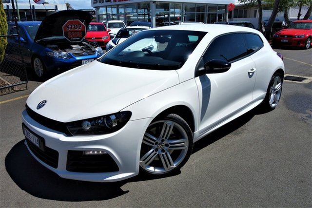Used Volkswagen Scirocco 1S MY12 R Coupe DSG, 2011 Volkswagen Scirocco 1S MY12 R Coupe DSG White 6 Speed Sports Automatic Dual Clutch Hatchback