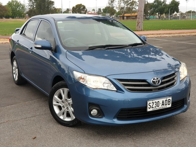 Used Toyota Corolla ZRE152R MY11 Ascent Sport, 2011 Toyota Corolla ZRE152R MY11 Ascent Sport Blue 4 Speed Automatic Sedan