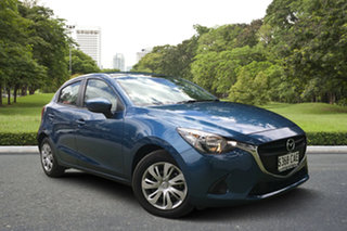 2019 Mazda 2 DJ2HAA Neo SKYACTIV-Drive Eternal Blue 6 Speed Sports Automatic Hatchback.