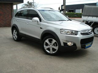 2012 Holden Captiva CG Series II MY12 7 AWD LX Nitrate Silver 6 Speed Sports Automatic Wagon.