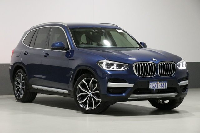 Used BMW X3 G01 MY18.5 xDrive 30I, 2018 BMW X3 G01 MY18.5 xDrive 30I Blue 8 Speed Automatic Wagon