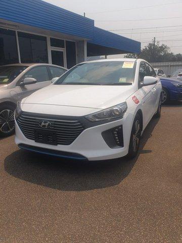 New Hyundai Ioniq AE.2 MY19 plug-in DCT Elite, 2018 Hyundai Ioniq AE.2 MY19 plug-in DCT Elite Polar White 6 Speed Sports Automatic Dual Clutch