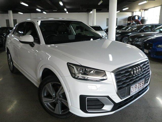 Used Audi Q2 GA MY17 Sport S Tronic Quattro, 2017 Audi Q2 GA MY17 Sport S Tronic Quattro White 7 Speed Sports Automatic Dual Clutch Wagon