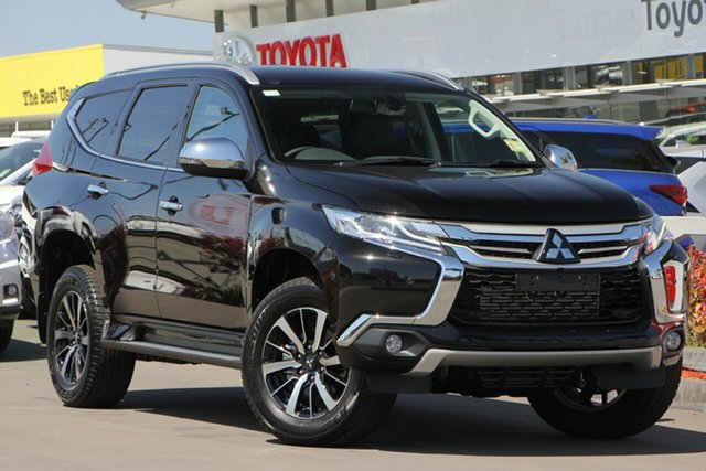 Used Mitsubishi Pajero Sport QE MY19 Exceed, 2018 Mitsubishi Pajero Sport QE MY19 Exceed Black 8 Speed Sports Automatic Wagon
