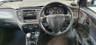 2008 Kia Rio JB MY07 LX Silver 4 Speed Automatic Hatchback.