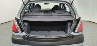 2008 Kia Rio JB MY07 LX Silver 4 Speed Automatic Hatchback