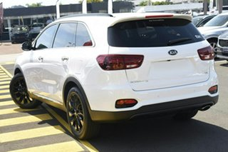 2019 Kia Sorento UM MY20 Black Edition Clear White 8 Speed Sports Automatic Wagon.
