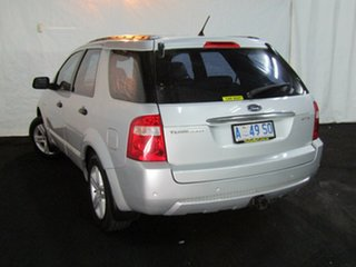 2005 Ford Territory SX Ghia AWD Silver 4 Speed Sports Automatic Wagon.