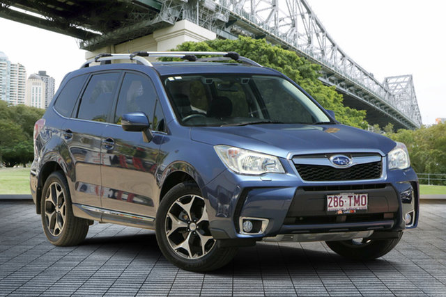 Used Subaru Forester S4 MY13 XT Lineartronic AWD Premium, 2013 Subaru Forester S4 MY13 XT Lineartronic AWD Premium Blue 8 Speed Constant Variable Wagon