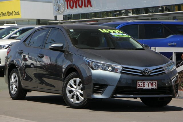 Used Toyota Corolla ZRE172R Ascent S-CVT, 2015 Toyota Corolla ZRE172R Ascent S-CVT 7 Speed Constant Variable Sedan