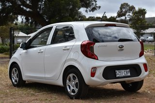 2019 Kia Picanto JA MY19 S Clear White 4 Speed Automatic Hatchback