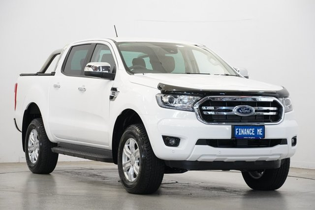 Used Ford Ranger PX MkIII 2019.00MY XLT Pick-up Double Cab, 2019 Ford Ranger PX MkIII 2019.00MY XLT Pick-up Double Cab Arctic White 10 Speed Sports Automatic