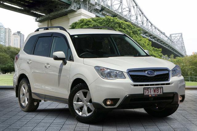 Used Subaru Forester S4 MY15 2.5i-L CVT AWD, 2015 Subaru Forester S4 MY15 2.5i-L CVT AWD White 6 Speed Constant Variable Wagon