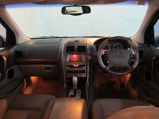 2005 Ford Territory SX Ghia AWD Silver 4 Speed Sports Automatic Wagon