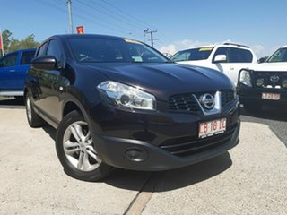 2013 Nissan Dualis J107 Series 3 MY12 +2 Hatch X-tronic 2WD ST Maroon 6 Speed Constant Variable.