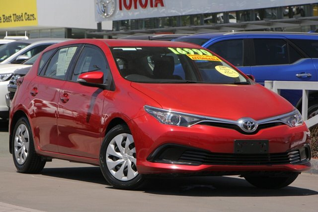 Used Toyota Corolla ZRE182R Ascent S-CVT, 2017 Toyota Corolla ZRE182R Ascent S-CVT Wildfire 7 Speed Constant Variable Hatchback