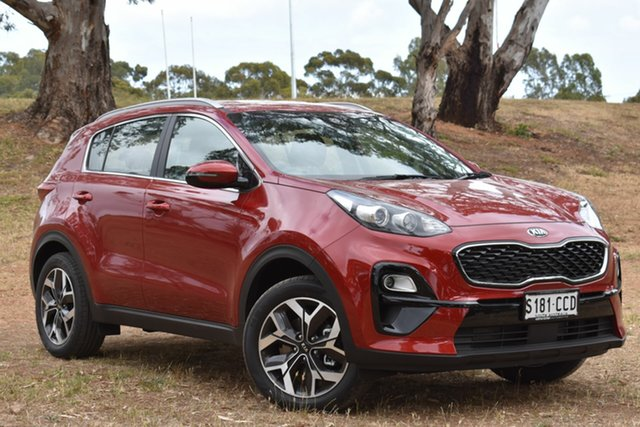 Demo Kia Sportage QL MY20 SX 2WD, 2019 Kia Sportage QL MY20 SX 2WD Fiery Red 6 Speed Sports Automatic Wagon