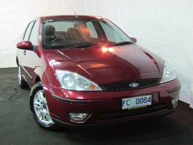 Used Ford Focus LR MY2003 LX, 2004 Ford Focus LR MY2003 LX Maroon 5 Speed Manual Sedan