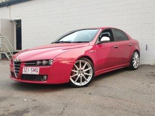 2008 Alfa Romeo 159 JTS TI Red 6 Speed Manual Sedan.