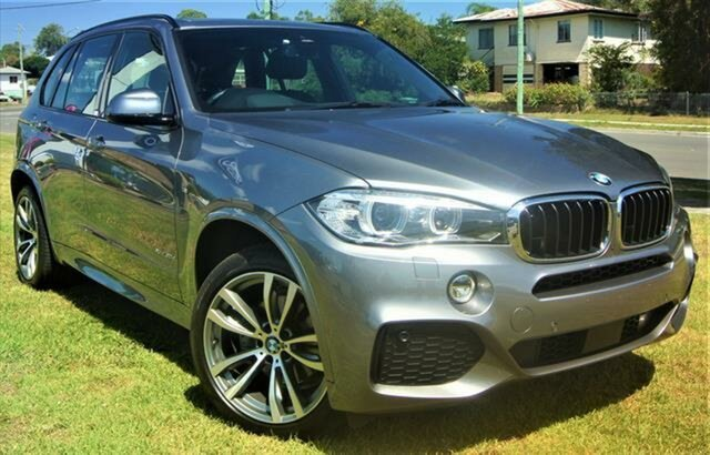 Used BMW X5 F15 xDrive30d, 2018 BMW X5 F15 xDrive30d Grey 8 Speed Sports Automatic Wagon