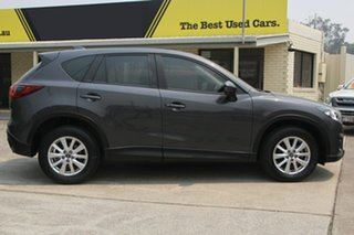 2014 Mazda CX-5 KE1071 MY14 Maxx SKYACTIV-Drive Sport Meteor Grey 6 Speed Sports Automatic Wagon.