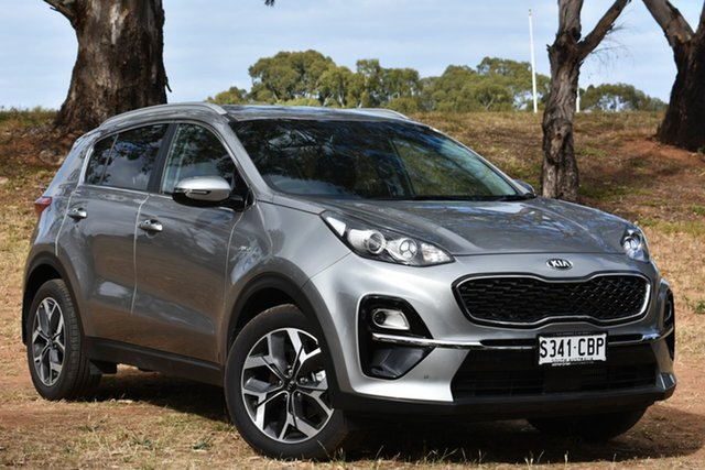Demo Kia Sportage QL MY19 SLi AWD, 2018 Kia Sportage QL MY19 SLi AWD Steel Grey 8 Speed Sports Automatic Wagon