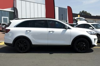 2019 Kia Sorento UM MY20 Black Edition Clear White 8 Speed Sports Automatic Wagon